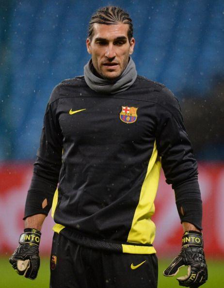 Otro reencuentro se dará entre José Manuel Pinto, porterop del Barcelona...