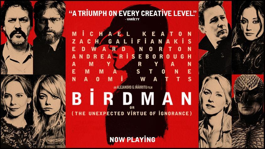 Birdman o (la inesperada virtud de la ignorancia)(2014), Estados UnidosD...