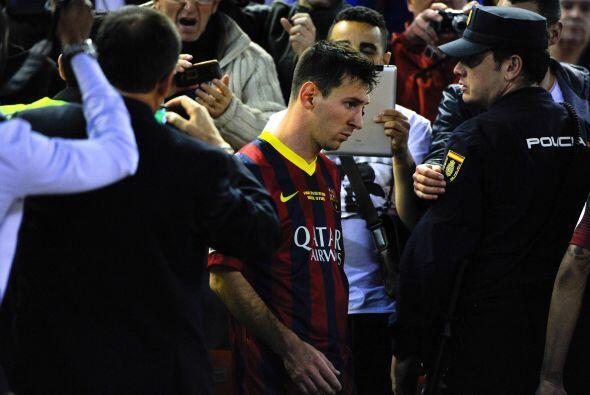 Leo Messi:  Es cierto que, desde que se lesionó el bíceps femoral, no ha...