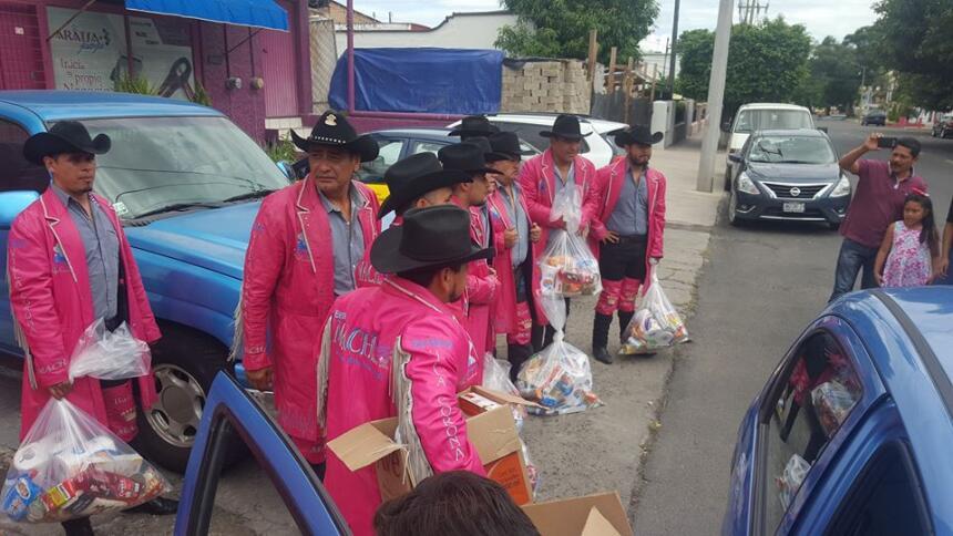 Los exintegrantes de La Banda Machos salvan su vida de milagro acidbanda...
