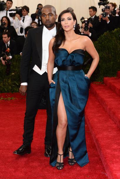 26. Ya como la señora West apareció muy sensual y elegante en la gala ME...
