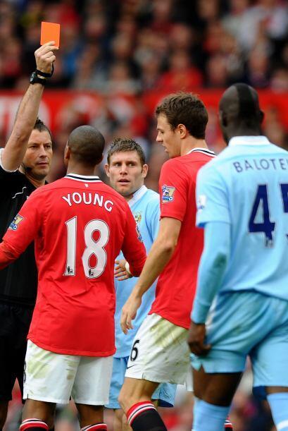 Jonathan Evans dejaba en desventaja al United.