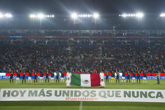 Muestras de apoyo en la Liga MX: Pachuca 4-0 Cruz Azul