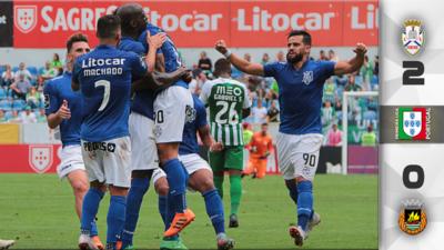 El 'Pollo' Briseño brilló con el Feirense en el inicio de la liga de Portugal