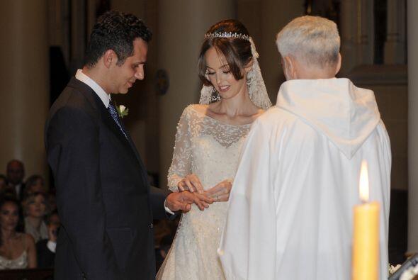 Bueno, en realidad esta es la segunda boda de Gaby.