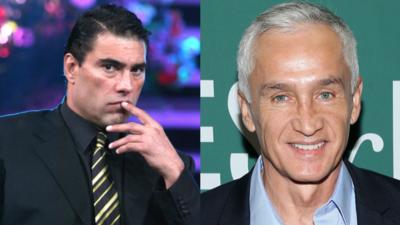 Jorge Ramos y Eduardo Yáñez