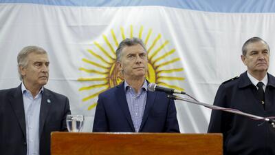 El presidente argentino Mauricio Macri dijo que se investigará la...