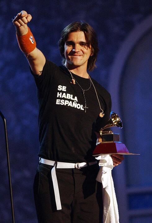 Juanes en Latin gRAMMY 2003
