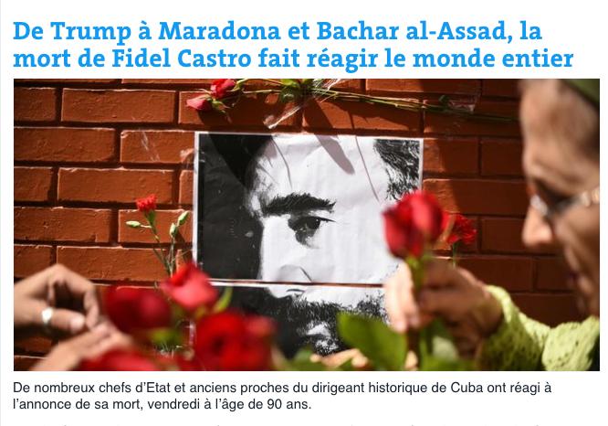 El diario francés Le Monde destaca las reacciones de distintos mandatari...