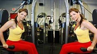 En su primer embarazo, Bárbara hizo ejercicios en un gimnasio. En su seg...