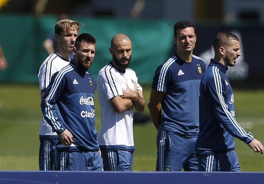 Argentina al límite: la tensión en el entrenamiento antes de la última f...