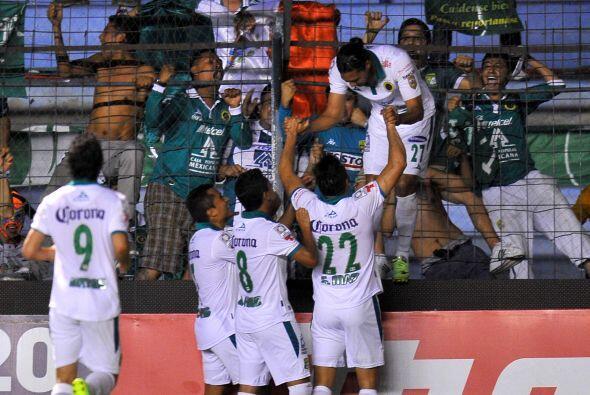 Los 'Panzas Verdes' en ese momento empataban el partido y se hacía justi...