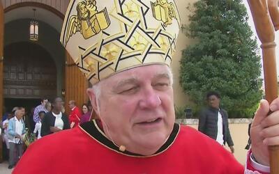 Arzobispo de Miami: ''Es el comienzo de la semana más sagrada del año li...