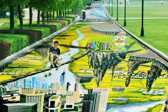 Yang Yongchun es el artista creador de esta espectacular pintura.