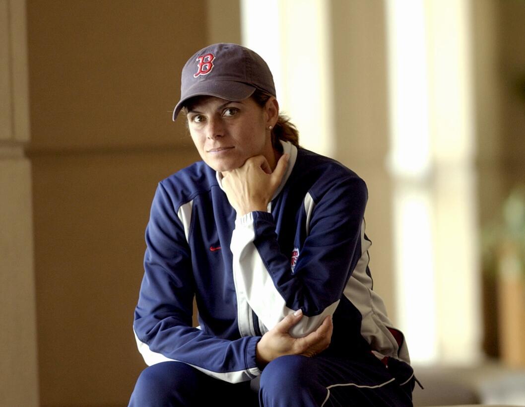 Los 45 años de Mia Hamm, 'la Pelé del fútbol femenino' GettyImages-97868...