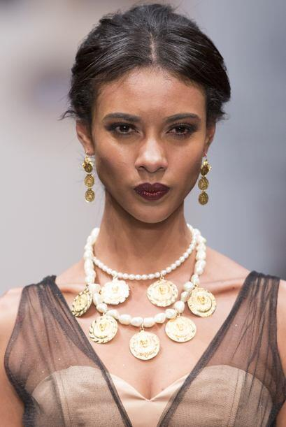 La joyería también refleja la fuente de inspiración de Lydia Lavín.