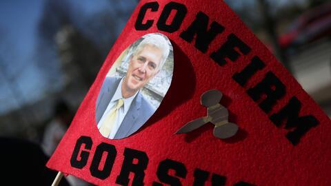 La canidatura de Gorsuh plantea una guerra política que podr&iacu...