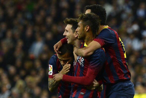 En este juego de la jornada 34, Iniesta y un triplete de Lionel Messi di...