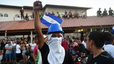 En fotos: Una semana de protestas, represión y muerte en Nicaragua