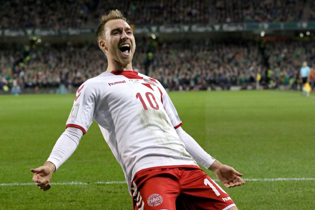 Grupo C. Christian Eriksen (Dinamarca) - en el Tottenham Hotspur es uno...