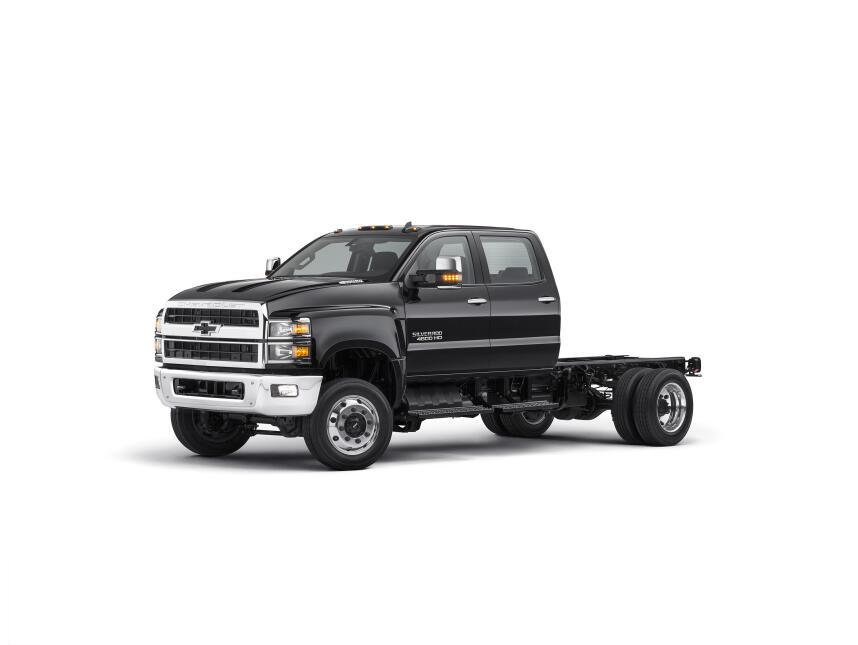 Chevrolet Silverado 4500, 5500 y 6500