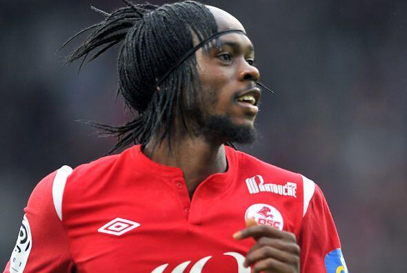 Dos de los cinco tantos del Lille fueron marcados por Gervinho, que marc...