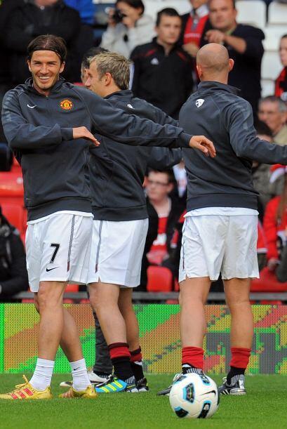 El Manchester UNited hizo una pausa en su preparación para la Final de l...