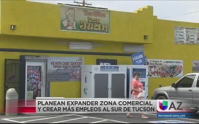 Planean expandir zona comercial de South Tucson