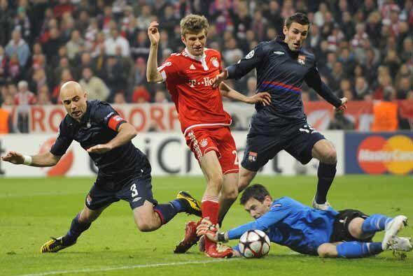 El cuadro bávaro comenzaba a desesperarse al no poder marcar gol en su c...