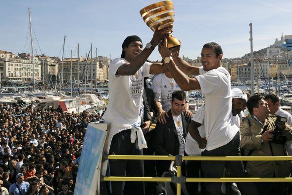 Pero el Marsella también se llevó la Supercopa francesa. Estos fueron lo...