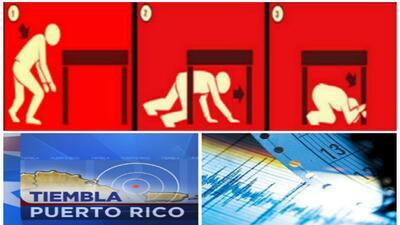 ¿Qué hacer en caso de terremoto? Entérese aquí