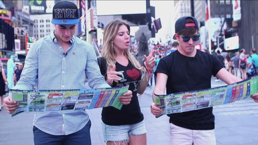 Danilo, Fernanda y Roger iniciaron el recorrido en la emblemática ciudad...