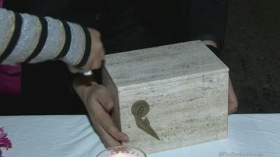 Regresan restos de Michelli a Tuxpan