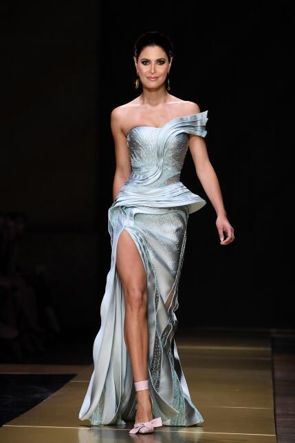 5 vestidos de pasarela con los que nos gustaría ver a Chiquinquirá Delga...
