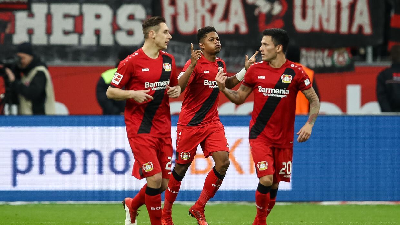 El Leverkusen se impone al Mainz (2-0) y lidera la pelea por el subcampeonato