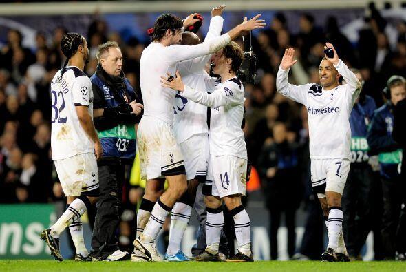 Con esto, el Tottenham se instaló en los Cuartos de Final del torneo.