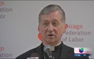 Arzobispo pide respeto por los trabajadores y por los inmigrantes