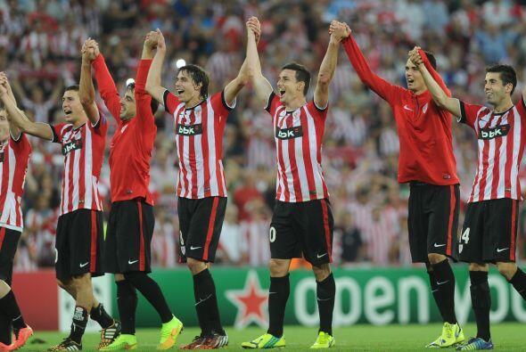 El Athletic de Bilbao (España) se metió a la fase de grupos y lo hizo co...