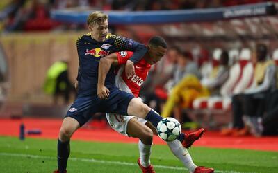 Mónaco perdió en casa con el Leipzig y se despidió de la Champions