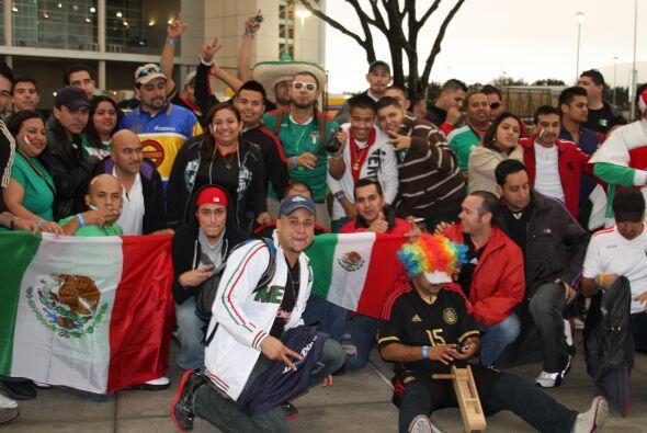 Y es que nadie quería perderse el partidazo entre México vs Venezuela.