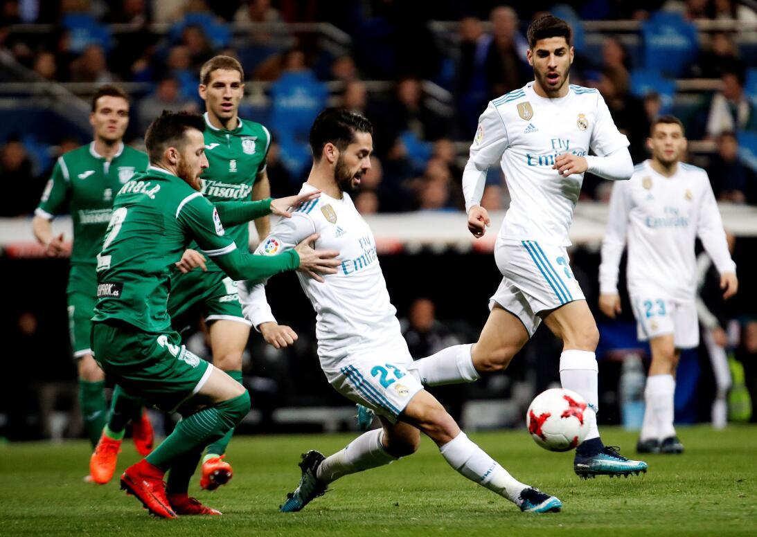 En fotos: así fue la nueva debacle del Real Madrid y la sorpresa que le...