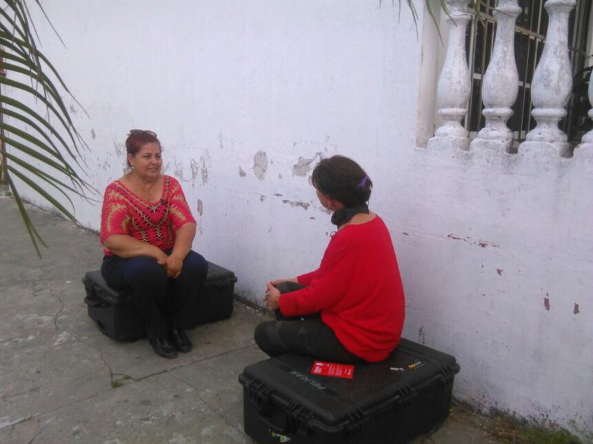Gris Barradas, quien buscó a su hijo Pedro Alberto por casi 4 años, lo e...