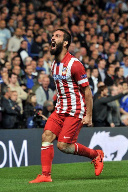 El sorprendente Campeón de España, Atlético de Madrid, sufrió la partida...