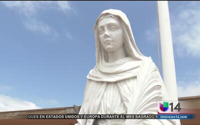Vandalizan por segunda ocasión la imagen de  una virgen en San Leandro