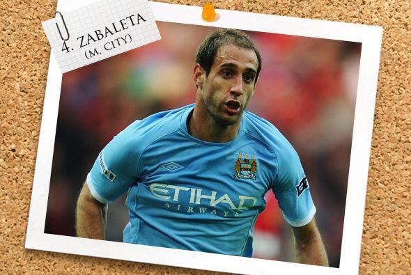 Siguiendo con talento argentino, Pablo Zavaleta dio un destacado partido...