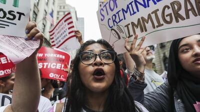 La comunidad inmigrante centroamericana de EEUU vive horas cruciales.