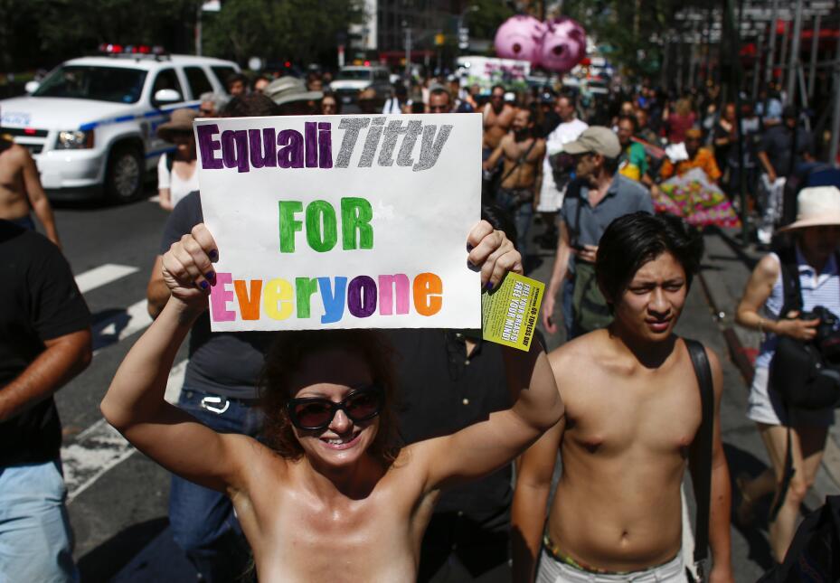 El reclamo de igualdad unió a personas de todas las razas.
