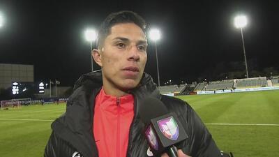 Carlos Salcedo agradeció el apoyo de la afición mexicana en EEUU al Eintracht Frankfurt