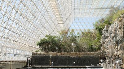 Biosphere 2 el laboratorio para la investigación del ecosistema más gran del mundo cumple 25 años.