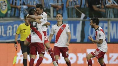 En fotos: River Plate remonta en Porto Alegre y elimina al Gremio en la Copa Libertadores